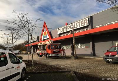 Umbau Max Bahr Baumarkt, Remschei