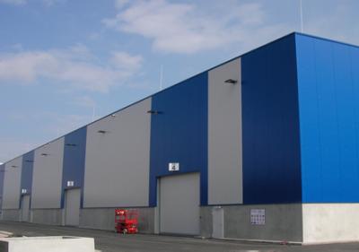Neubau Umschlaghalle Duisport in Duisburg