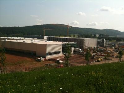 Neubau Produktionsgebäude Braun, Melsungen